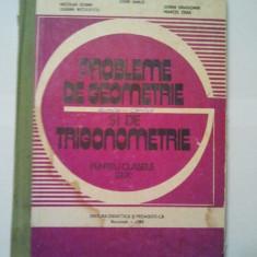 PROBLEME DE GEOMETRIE SI DE TRIGONOMETRIE PENTRU CLASELE IX - X - S. IANUS 1473