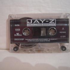 Vand caseta audio Jay Z-vol 2-Hard Knock Life,originala,raritate!-fara coperta, Casete audio, ariola