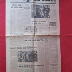Sportul nr 181 - 14 mai 1968, ziar vechi sport