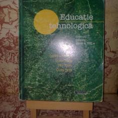 "Gabriela Lichiardopol - Educatie tehnologica manual pentru clasa a VIII a ""A462"", Clasa 8, Alte materii"