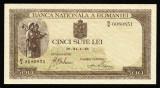 ROMANIA 500 LEI 1940 UNC NECIRCULATA