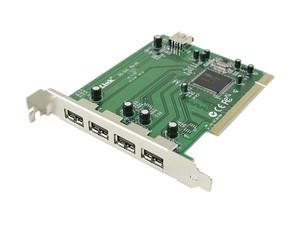 PLACA DESKTOP PCI 4X USB 2.0 DLINK DU-520 SI VIA PERFECT FUNCTIONALA!
