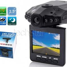 Camera video Auto HD H198, Inflarosu DVR si display 2, 5 inch TFT speciala pt auto masina camion, martor accident / VERIFICARE COLET / GARANTIE 24luni