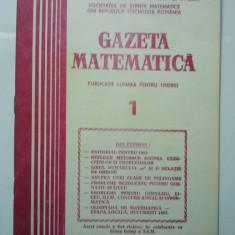 GAZETA DE MATEMATICA - LOT ANUL 1982 NUMERELELE 1 + 2 - 3 + 4