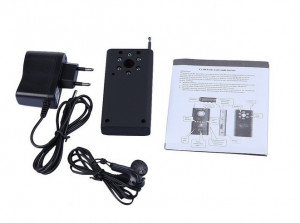 Detector camere ascunse Detector microfoane Detect GSM Detector spion spy CC308+