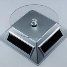 Stand rotativ Suport rotativ ceasuri bijuterii cu Incarcare Solara