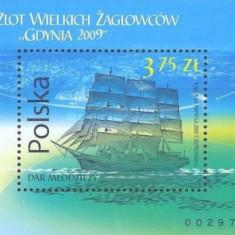 Polonia 2009 - bloc Gdynia 2009 neuzat,perfecta stare
