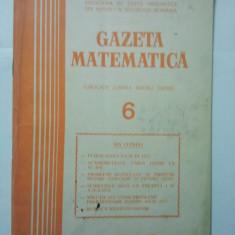 GAZETA DE MATEMATICA - LOT ANUL 1977 NUMERELELE 6 + 11 + 12