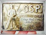 Cumpara ieftin PLACHETĂ SPORTIVĂ OSP, CAMPIONATELE NAȚIONALE SINDICALE DE ATLETISM, ARAD, 1947!