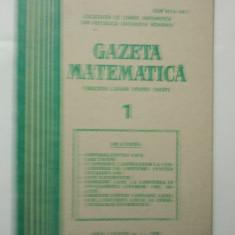 GAZETA DE MATEMATICA - LOT ANUL 1983 NUMERELELE 1 + 2 + 3 + 4