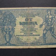 Ungaria  5  korona  1919  mai  15  Budapesta  C47