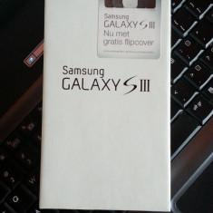 Vand/Schimb Samsung S3 GT i9300, stare buna, Necodat, Marble White, 16G - Telefon mobil Samsung Galaxy S3, Alb, 16GB, Neblocat, 1 GB, 2G & 3G