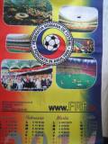 DE COLECTIE - Calendar (2015) panza 70/33 cm, stare perfecta, Federatia Romana de Fotbal