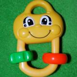 Jucarie pentru bebelusi (bebe), din plastic de calitate, marca Fisher Price, Mattel 2002, 12 cm