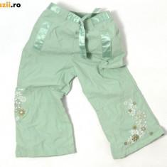 Pantaloni de culoarea mentei, superbi, marca Adams, fete 18-24 luni/ 92 cm, Culoare: Verde