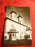 Ilustrata - Biserica Manastirii Varatec circulat 1969
