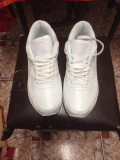Nike Airmax Albi, 38, Alb, Piele sintetica