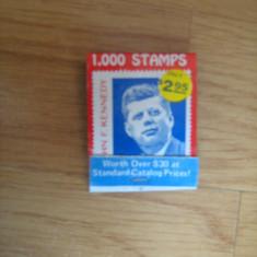 De colectie - cutie de chibrituri (cu poza John F Kennedy), complete si nefolosite
