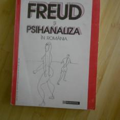 G. BRATESCU--FREUD SI PSIHANALIZA IN ROMANIA - Carte Psihiatrie