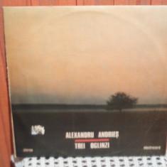 - Y- ALEXANDRU ANDRIES - TREI OGLINZI - DISC VINIL LP - Muzica Folk