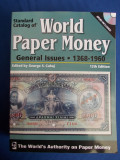 CATALOG BANCNOTE * WORLD PAPER MONEY :1368-1960 -ED 12-A  KRAUSE-2008 -CARTE+DVD