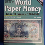 CATALOG BANCNOTE * WORLD PAPER MONEY : 1368-1960 - EDITED BY GEORGE S.CUHAJ - EDITIA 12-A - KRAUSE - USA - 2008 - CARTE + DVD !!!