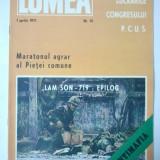 REVISTA LUMEA - SAPTAMANAL DE POLITICA EXTERNA { NUMARUL 14 ANUL 1971 }