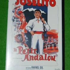 DVD film artistic de colectie, franceza, Joselito Le Petit Andalou, 1965, un film de Rafael Gil, DVD in conditie foarte buna, francofoni, francofonie - Film Colectie