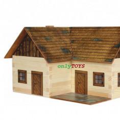 Set walachia casuta casute traditionale din lemn CASA SOLITARA lonley house lego - Set de constructie Walachia, 8-10 ani, Unisex