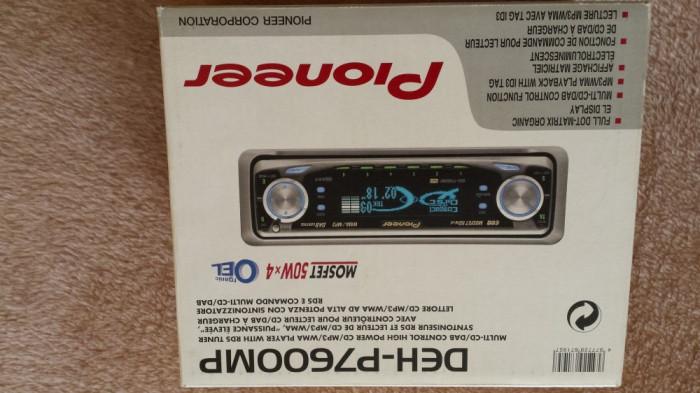 casetofon pionner cu comenzi si pe volan,  magazie 10 cd blaupunkt,  stație amplificare denon 650