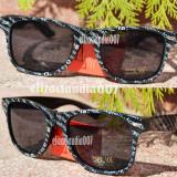 Ochelari de soare wayfarer ziar+saculet