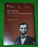 Set educational 2 DVD - Mr. Lincoln: Life of Abraham Lincoln, colectia Great Courses, cu Course Guide Book, limba engleza, Nou / sigilat; istorie SUA