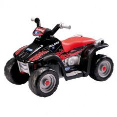 ATV Polaris Sportman 400 Black - Masinuta electrica copii Peg Perego