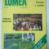 REVISTA LUMEA - SAPTAMANAL DE POLITICA EXTERNA { NUMARUL 10 ANUL 1971 }