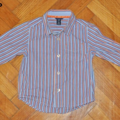 Camasa moderna, marca GAP, baietei 18-24 luni, Culoare: Multicolor, Baieti