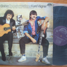 Disc vinil ( vinyl, pick-up ) LUBOMIR BRABEC & KAREL VAGNER - Transformations (Produs SUPRAPHON - 1988) - Muzica Clasica Altele