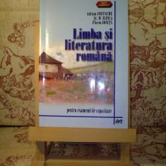 """Adrian Costache - Limba si literatura romana pentru examenul de capacitate """"A811"""""""