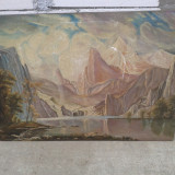 Pictura in ulei semnata, A.CAMPIAN . reducere - Pictor roman, Peisaje, Altul