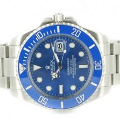 Rolex Submariner White Blue ceramic - calitate maxima ! - Ceas barbatesc Rolex, Casual, Inox, Analog