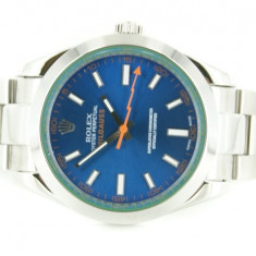 Rolex Milgauss steel Blue Dial - calitate maxima ! - Ceas barbatesc Rolex, Casual, Mecanic-Automatic, Otel, Inox, Analog
