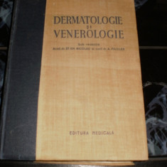 Dermatologie si Venerologie Acad. dr. ST.GH. Nicolau - Carte Dermatologie si venerologie
