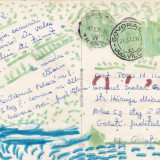 BARAJUL SI LACUL DE ACUMULARE DE PE ARGES - Carte Postala Muntenia dupa 1918, Circulata
