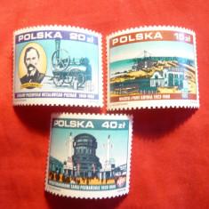 3 Serii Industrie , Targ Poznan , Port Gdynia , 1988 Polonia , 3 val.