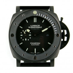 Panerai Luminor Submersible Amagnetic Black Steel - calitate maxima ! - Ceas barbatesc Panerai, Casual, Otel, Cauciuc, Analog