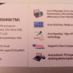Acer TravelMate3000 - Laptop Acer, Diagonala ecran: 12, Sub 80 GB