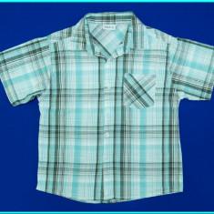 IMPECABILA _ Camasa cu maneca scurta, bumbac, XMAIL _ baieti | 11 - 12 ani | 152, Marime: Alta, Culoare: Bleu