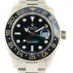 Rolex GMT Master 2012 ceramic Black Dial 18k - calitate maxima ! - Ceas barbatesc Rolex, Casual, Mecanic-Automatic, Piele, Analog