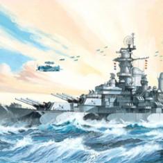 Macheta vapor Revell Battleship USS Missouri - 05092 - Macheta Navala