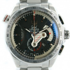 Grand Carrera 36 steel black - calitate maxima ! - Ceas barbatesc Tag Heuer, Casual, Otel, Inox, Analog