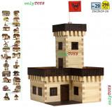 Casuta din lemn - Castelul de vara jucarie eco walachia summer castle lego wood